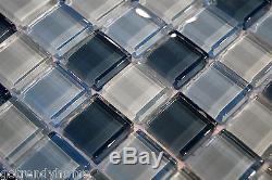 10SF Blue Crystal Glass Mosaic Tile kitchen backsplash wall bathroom shower sink