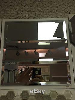 10 Sqft Mirror Beveled 4x12 Wall Backsplash Kitchen Mosaic Tile 6079 Glass