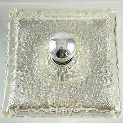 1 Pair Wall Lamps Hustadt Leuchten Lamps Glas Tiles Glass Lamp 60er Wall Lamp