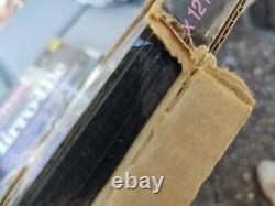 2 Boxes 10 Vintage Mirro Tile Glass Gold Vein Wall Mirror 12x 12 NOS