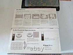 3 Boxes of 6=18 Vintage Mirro Tile Glass Gold Vein Wall Mirror 12x 12 NOS