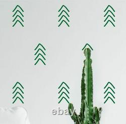 Arrow Wall Stickers Decals Geometric Style Wall Decoration DIY Vinyl Adhesive