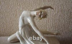 Ballet dancer Dudinskaya Syuimbike USSR Russian porcelain figurine LZFI 3834u