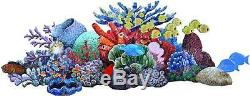 Big Tropical Coral Reef Fish Glass Mosaic Swim Pool Tile Wall Art Bath Shower