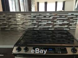 Black Silver Stainless Steel Metal White Glass Liner Mosaic Backsplash Wall Tile