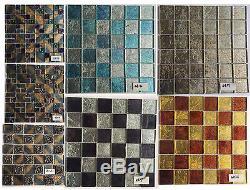 CHOIS Wholesale Backsplash Tile Close Out Glass Smart Closeout Mosaic Walls