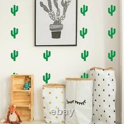 Cactus Cacti Wall Stickers Decals Vinyl Adhesive Kids Decor
