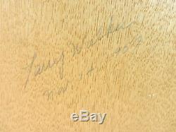 Calartware Tile Mosaic Siamese Cat Mid Century Modern Artist Signed 1957