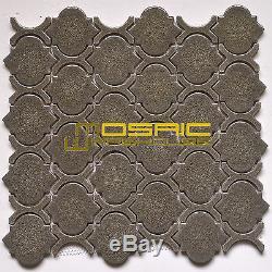 Crackled Glass Wall Kitchen Backsplash Bathroom Mosaic Tile, CGM 7203 Graysin