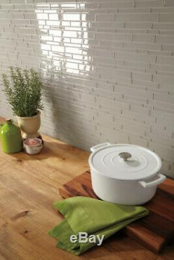 Daltile AM36L Brown Amity 6 X 3 Subway Wall Tile Smooth Glass Visual