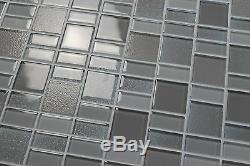 Fusion Pearl Glass Mosaic Tiles Backsplash/Bathroom Tile Squares/Rectangles