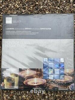 Glass Mosaic Tiles Job Lot 24 Boxes 120 Sheets Of Tiles In Total. Over 3m Sqaure
