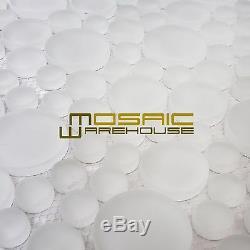 Glass Wall Kitchen Backsplash Bathroom Mosaic Tile, GM 4101-Mist