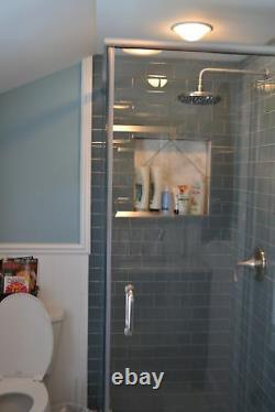 Ice Glass Subway Tile 3x6 for Backsplashes, Showers & More BOX OF 11 SQFT