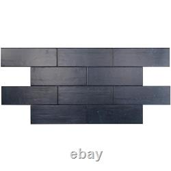 Ivy Hill Tile Ceramic Tile 4 in. X 12 in. 7mm Blue (34-piece 10.97 sq ft. / box)