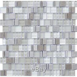 Karma Stone and Glass Mosaic Tiles Camel Kitchen Backsplash/Bathroom Tiles
