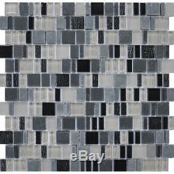 Karma Stone and Glass Mosaic Tiles Gotham Kitchen Backsplash/Bathroom