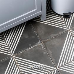 Kings Rombos 17-5/8 In. X 17-5/8 In. Ceramic Floor And Wall Tile 11.02 Sq. Ft. /