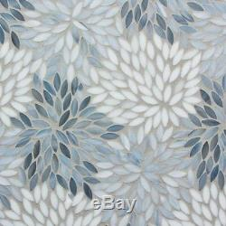 MOSAIC Matchstix Torrent Glass Floor and Wall Tile Stained glass(10 Pcs)