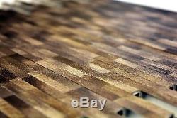 MOSAIC tile aluminum brown brick brushed colored dark wall 49-L103D f 10 sheet