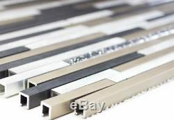 MOSAIC tile aluminum composite black bronze gold glitter wall 49-S401 f 10sheet