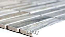 MOSAIC tile ceramic chopsticks stone look gray kitchen wall 24-STSO23 f 10sheet