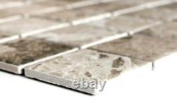 MOSAIC tile ceramic stone look sandbrown floor kitchen wall 16-AISO89 f 10sheet