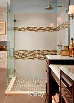 MSI GLSGGBRK-VC8MM 12 x 12 Brick Joint Mosaic Wall Tile - MultiColor