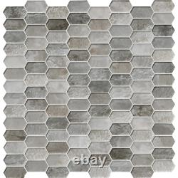 MSI Glass Tile 12 in. X 12 in. Water Resistant Multi-Surface (10 sq. Ft. / case)