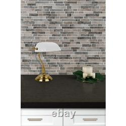 MSI Mosaic Tile 12 in. L Frost Resistant Waterproof Brick Joint (10 sq. Ft. /case)