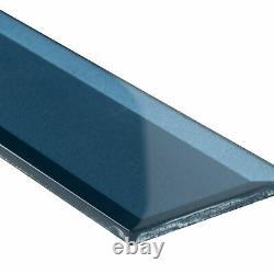 MSI SMOT-GL-T-TAH2.5X8 3 x 8 Subway Wall Tile Glossy Visual - Blue