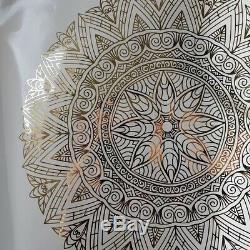 Mandala Wall Sticker Window front Coffee Shop Decal Home Bedroom India Rosetta