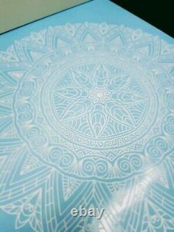 Mandala Wall Stickers Window front Coffee Shop Decal Home Bedroom India Rosetta