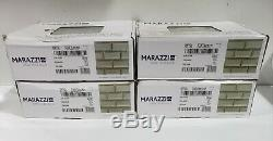 Marazzi Silver Glass Brick Joint Mosaic Wall Tile (lot of 40) ST0624BJMS1P