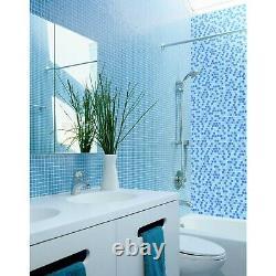 Miseno MT-SCENERY1SQ Scenery 1 X 1 Glass Visual Wall Tile Blue