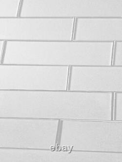 Miseno MT-WHSFOG0312-EW Forever 3 x 12 Rectangle Wall Tile White