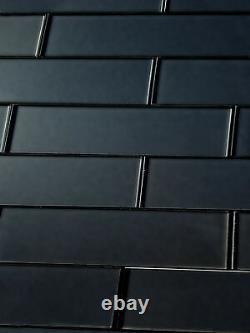 Miseno MT-WHSFOM0312-ER Forever 3 x 12 Rectangle Wall Tile - Black