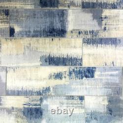 Miseno MT-WHSWTJ0416-CB Nature 4 x 16 Rectangle Wall Tile - Blue