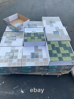 New Everstone Glass Wall Tile. 30 CASES. PICK UP ONLY-CHICAGO