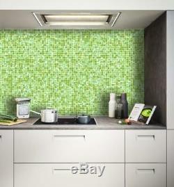 No Peel And Stick Glass Tile Mosaic Tiles Wall Bath Kitchen Backsplash Tile