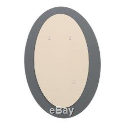 Oval Wall Bathroom Mirror Hanging Simulated Mosaic Glass Tile 31 L X 21 W
