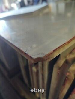 Reclaimed Vintage Antique Vitrolite Glass Tile Lot. 100+ pieces. Ceiling/wall