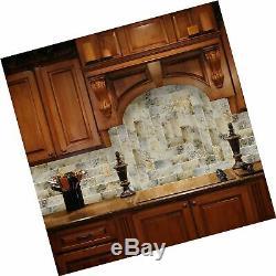 SkinnyTile 4404 Glass Wall Tile, 6 x 3, White