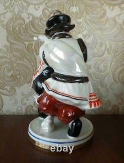 Ukrainian Hutsul Folklore dance Couple Russian porcelain figurine 4414u
