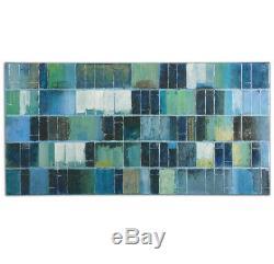 Uttermost 34300 Glass Tiles Modern Wall Art