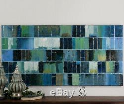 Uttermost 34300 Glass Tiles Wall Art