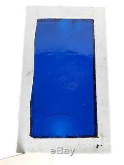 Vintage Wall Window Art Tile Decorative Rare Plate Stone & Glass 1960's 6 Pcs