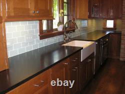 White Glass Subway Tile 3x6 for Backsplashes, Showers & More BOX OF 11 SQFT